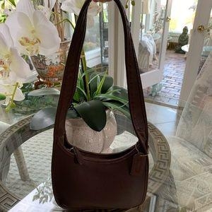 COACH VINTAGE BROWN SHOULDER BAG!🤎🤎